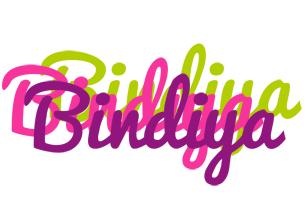 Bindiya flowers logo