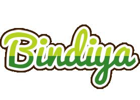 Bindiya golfing logo