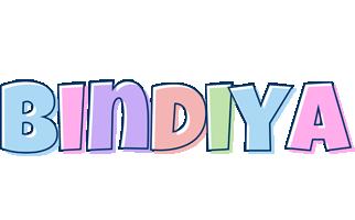 Bindiya pastel logo
