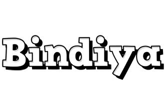 Bindiya snowing logo
