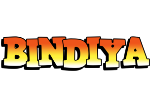 Bindiya sunset logo
