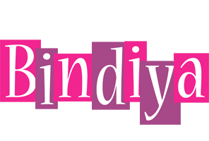 Bindiya whine logo