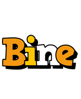 Bine cartoon logo