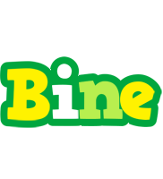 Bine soccer logo