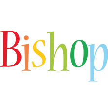 Bishop birthday logo
