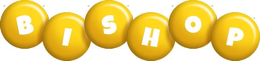 Bishop candy-yellow logo