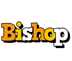 Bishop cartoon logo