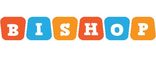 Bishop comics logo
