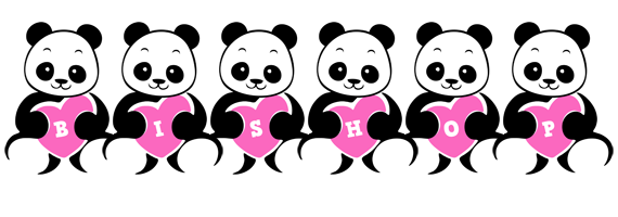 Bishop love-panda logo