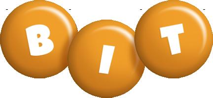 Bit candy-orange logo