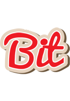 Bit chocolate logo