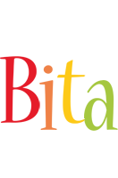 Bita birthday logo