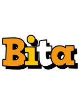 Bita cartoon logo