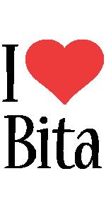 Bita i-love logo