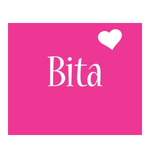 Bita love-heart logo