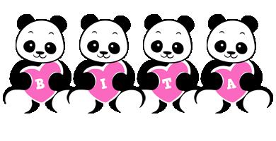 Bita love-panda logo