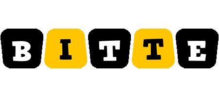 Bitte boots logo