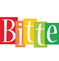 Bitte colors logo