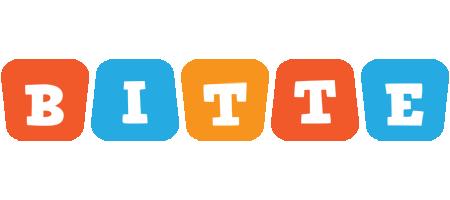Bitte comics logo