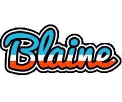 Blaine america logo