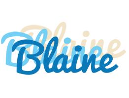 Blaine breeze logo