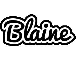 Blaine chess logo