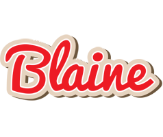 Blaine chocolate logo