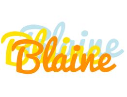 Blaine energy logo