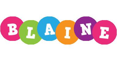 Blaine friends logo