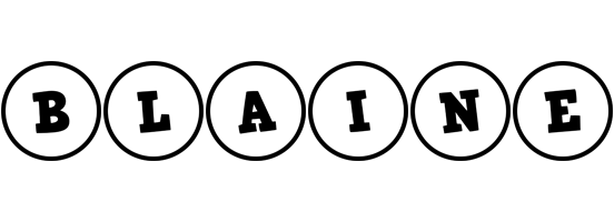 Blaine handy logo