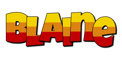 Blaine jungle logo
