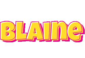 Blaine kaboom logo