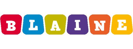Blaine kiddo logo