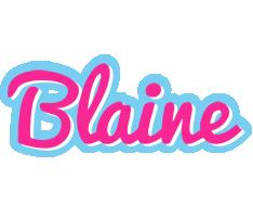 Blaine popstar logo