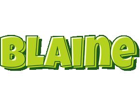 Blaine summer logo