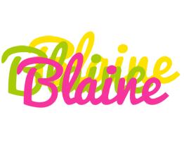 Blaine sweets logo