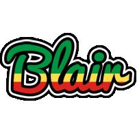 Blair african logo