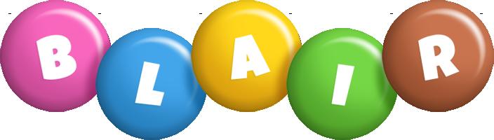 Blair candy logo