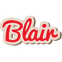Blair chocolate logo