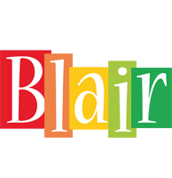 Blair colors logo