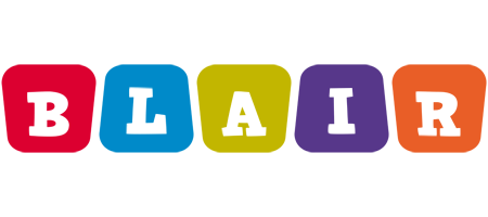 Blair daycare logo
