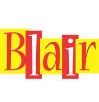 Blair errors logo