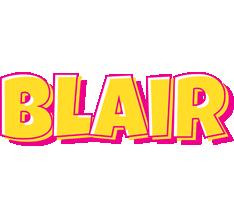 Blair kaboom logo