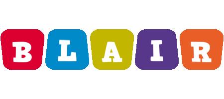 Blair kiddo logo