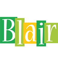 Blair lemonade logo