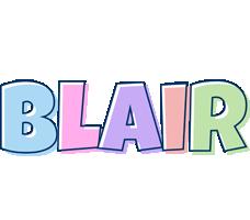 Blair pastel logo