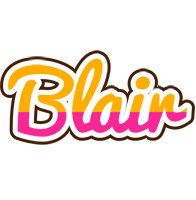Blair smoothie logo