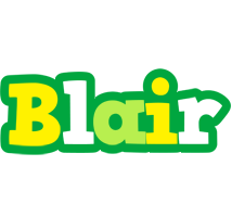 Blair soccer logo