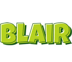 Blair summer logo