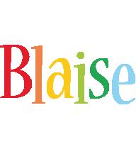 Blaise birthday logo